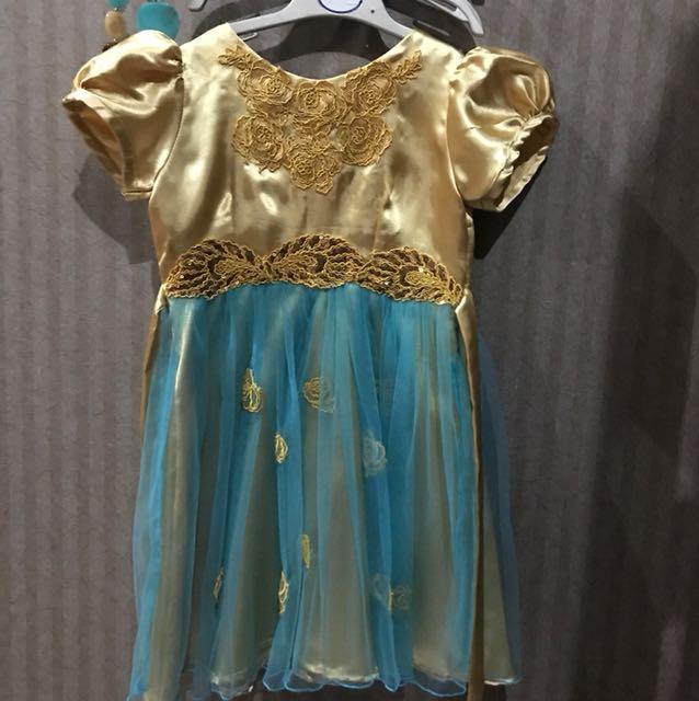 Goldy Dress