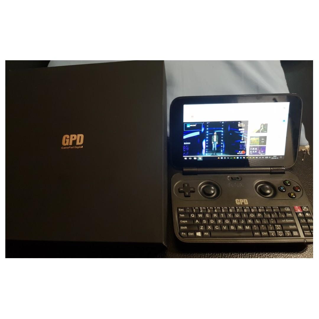 GPD win 5.5吋 小筆電 Z8700 有風扇版本