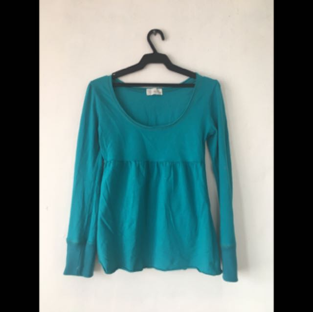 Green Korean Blouse
