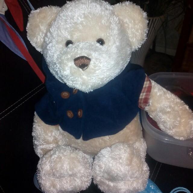 Henry myers teddy bear.
