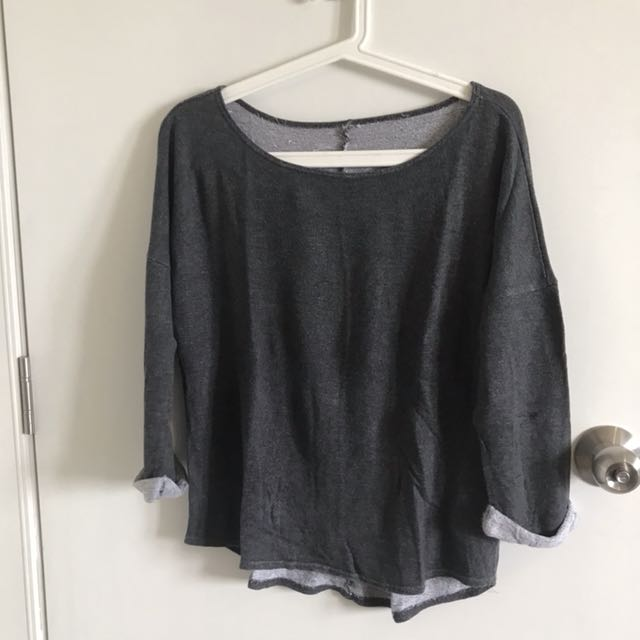 H&M Divided grey sweater