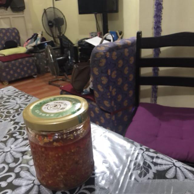 Home mAde chili sauce