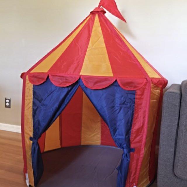 low priced 1314a 83505 IKEA CIRKUSTÄLT children's play tent, Babies & Kids, Toys ...