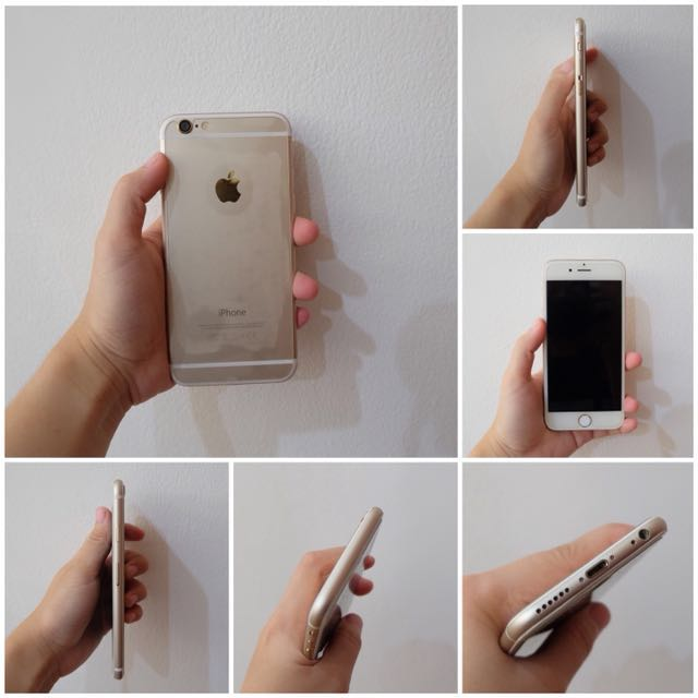 IPHONE 6 64GB GOLD MULUS 80%!!