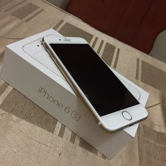 IPHONE 6S GOLD (OPEN FOR SWAP)
