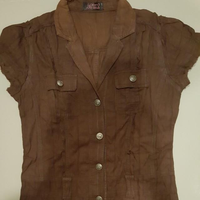 Japanese brand shirt dress