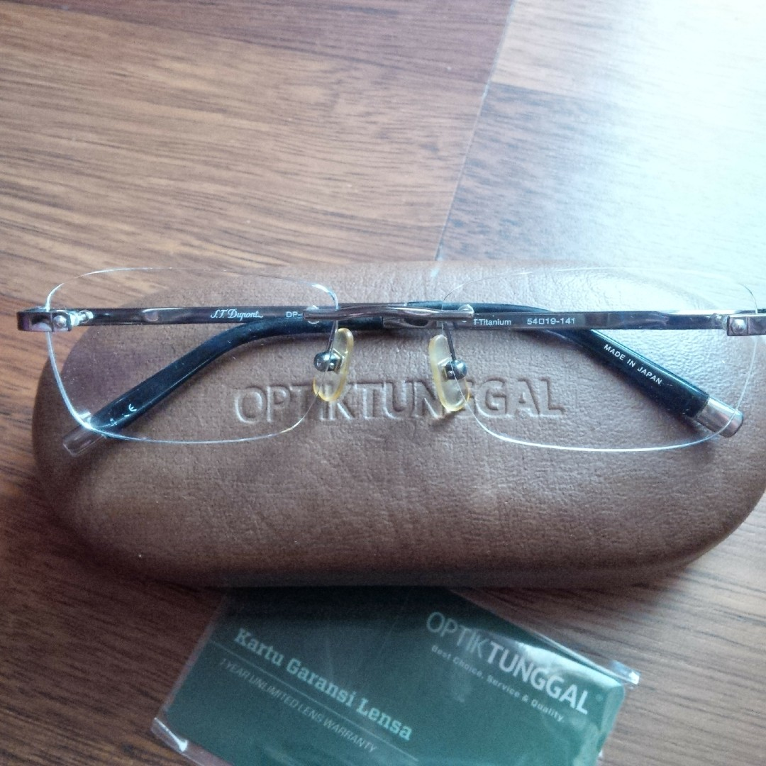 635c413a6443 Jual Frame Kacamata S T Dupont Titanium Dp 0040u Original Men