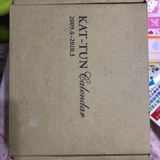 KAT-TUN 2009年官方月曆