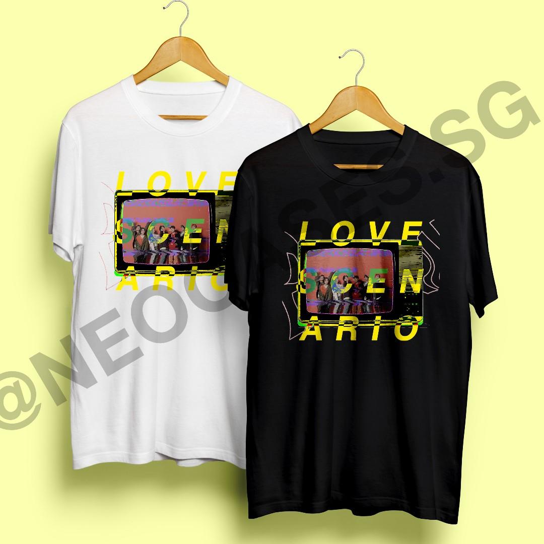 K Pop Ikon Love Scenario Graphic T Shirt Entertainment K Wave On