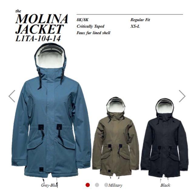 L1ta Snow Jacket (THE MOLINA)
