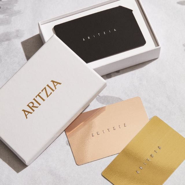 looking for aritzia gift cards
