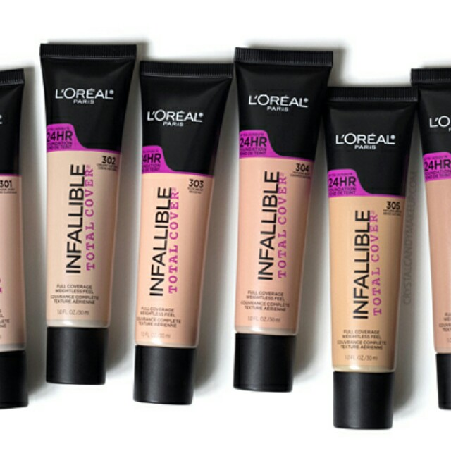 Loreal Infallible Pro Matte Total  Cover Foundation in Buff Beige#15Off