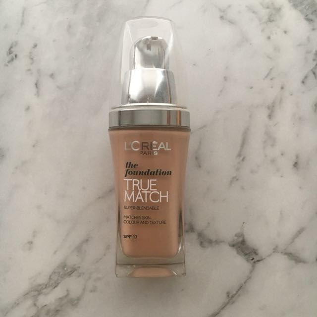 L'Oreal True Match Foundation: Golden Sand