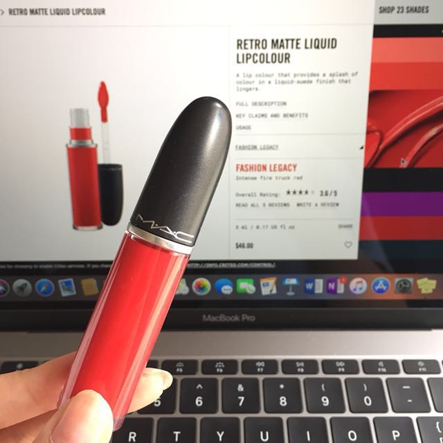 MAC LIQUID LIPSTICK