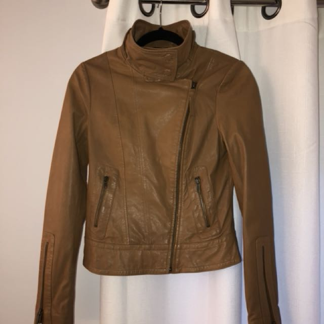 Mackage  leather jacket size xsmall
