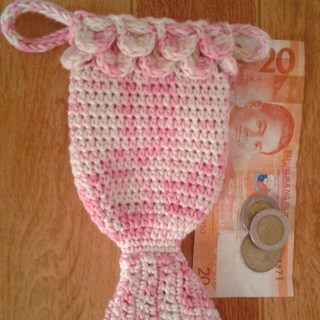 Made To Order Crochet Mermaid Coin Purse