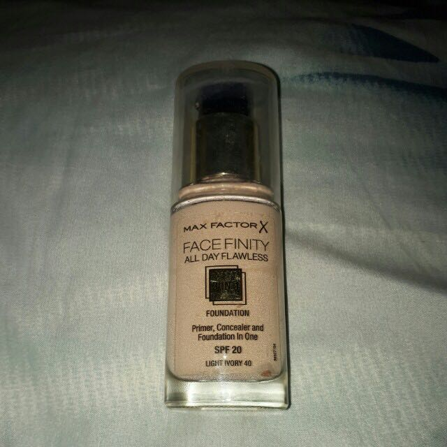 Max Factor X Face Finity Primer Concealer & Foundation in One