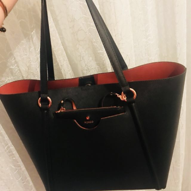Mimco shoulder bag price dropped