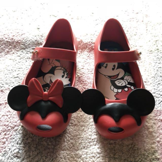 Mini Melissa Mickey \u0026 Minnie shoes