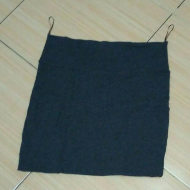 Mini skirt rok mini bahan kaos