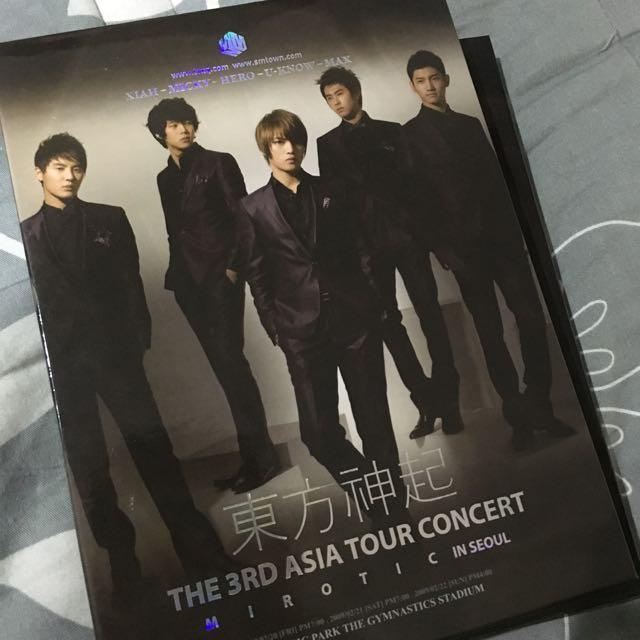Mirotic dvd 東方神起演唱會韓版dvd+寫真書