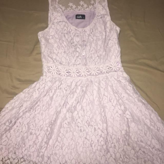 Mirrou lace dress
