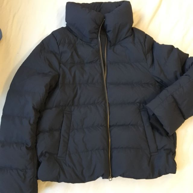 MUJI lady's duckdown Puffer jacket 2017 size M 90% white duckdown