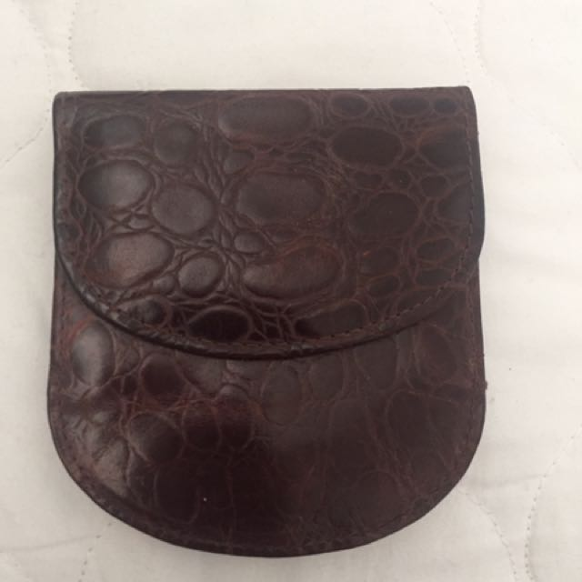 MUNDI small leather wallet