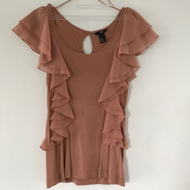 NEW! HnM Ruffle Top