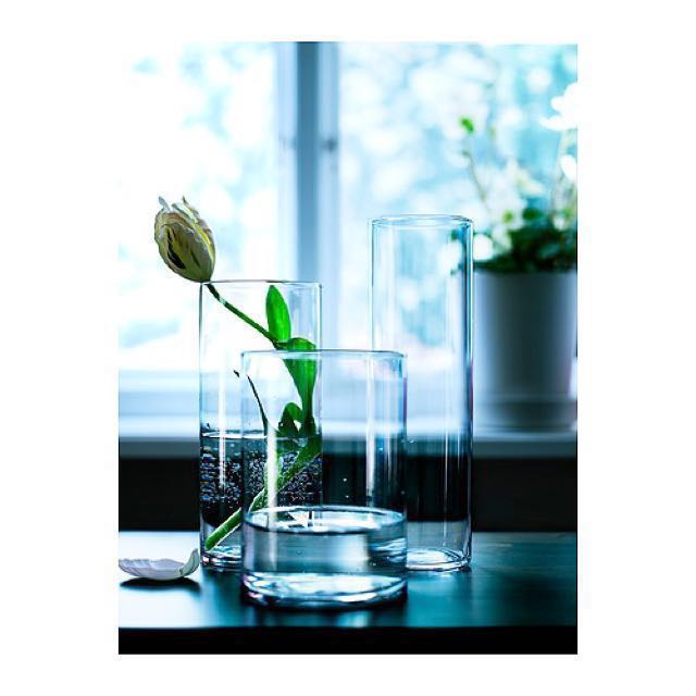 New Ikea Cylinder Vases Furniture Home Decor On Carousell