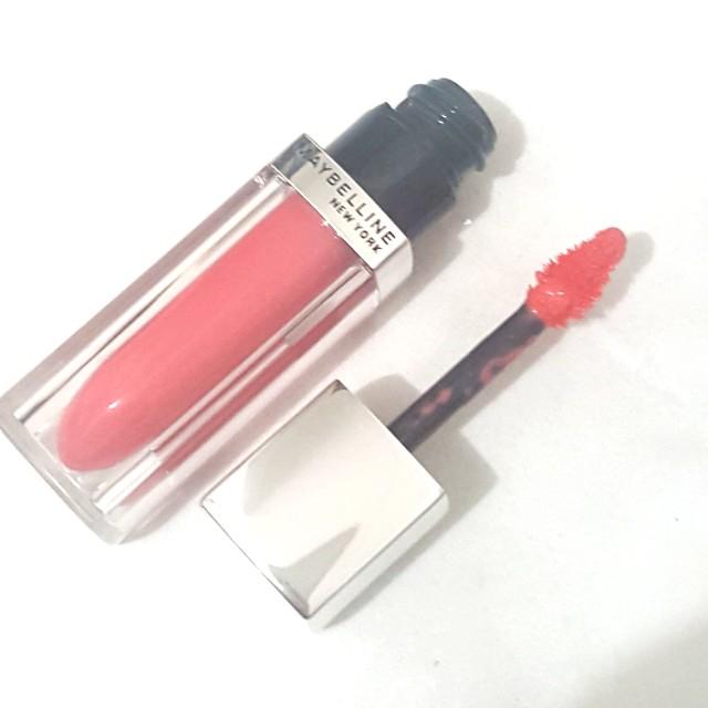 (NEW) Maybelline New York Lip Polish / Lip Topper / Lip Gloss (shade: GLAM 2 - natural pinkish color)