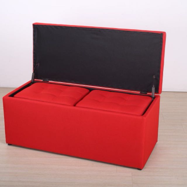 New Storage Box Seat Bench Stool Chair Sofa Ottoman From 29