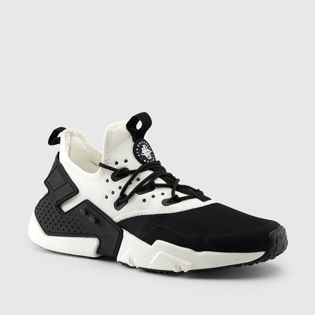 Nike Air Huarache Drift (Black \u0026 White) US 7 , US 11, Men\u0027s Fashion,  Footwear on Carousell