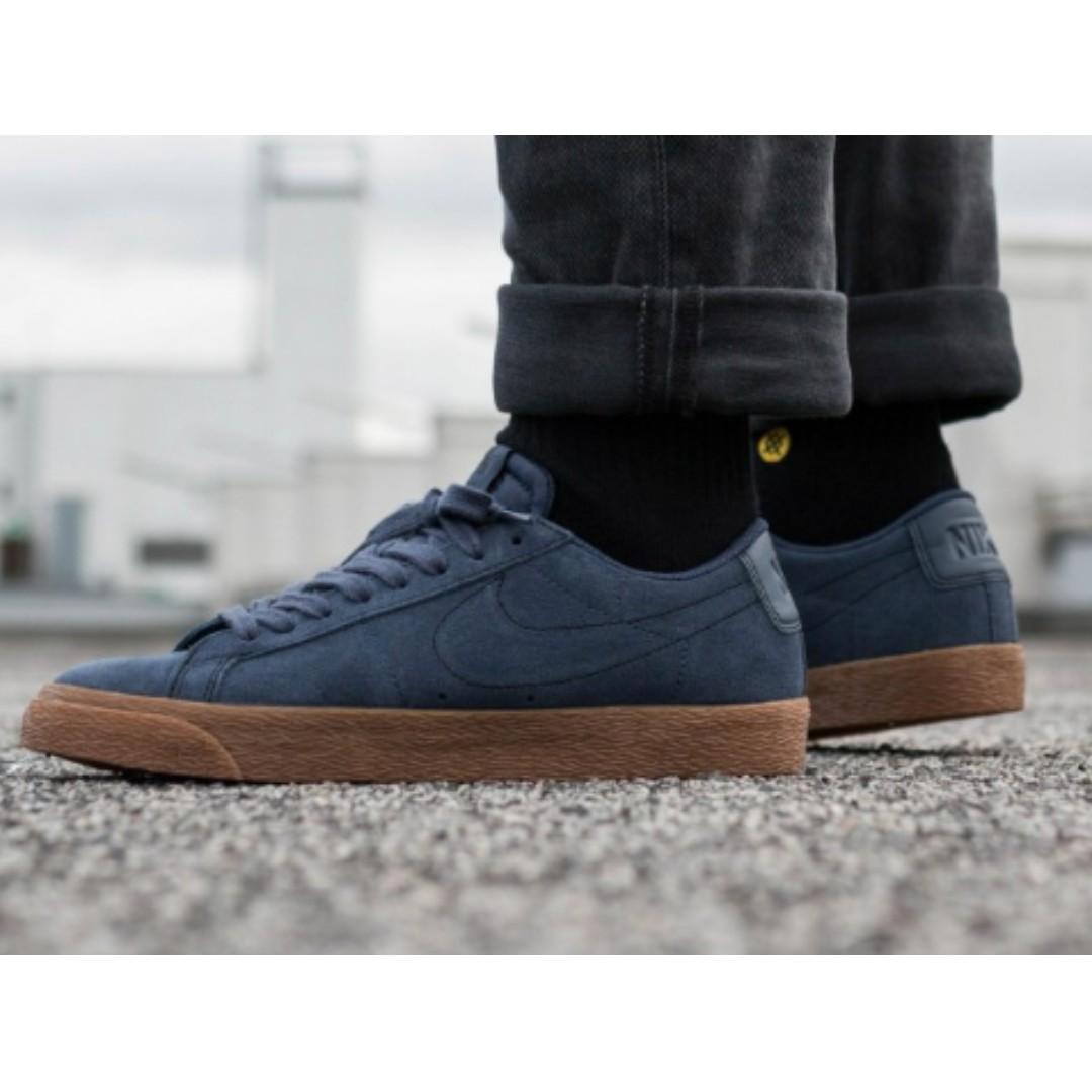 sports shoes 39702 bfc64 NIKE SB Air Zoom Blazer Low Shoes, Men's Fashion, Footwear ...