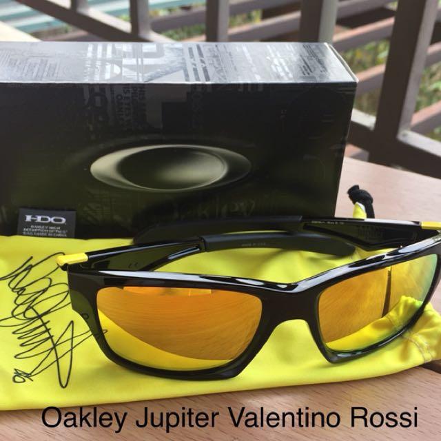 Oakley Jupiter (Valentino Rossi Signature Series)