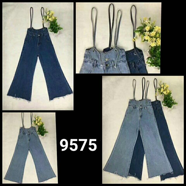 Overall Jeans Kulot
