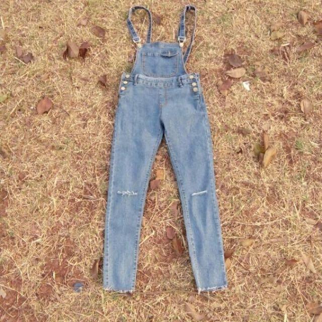 Overall Jeans Skiny