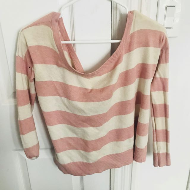 PacSun off the shoulder sweater