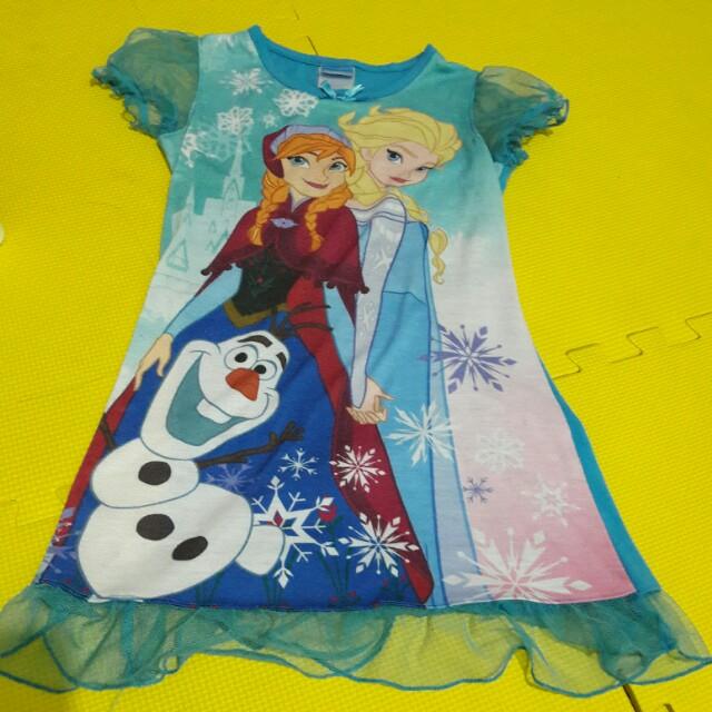 Pambahay - Frozen Dress
