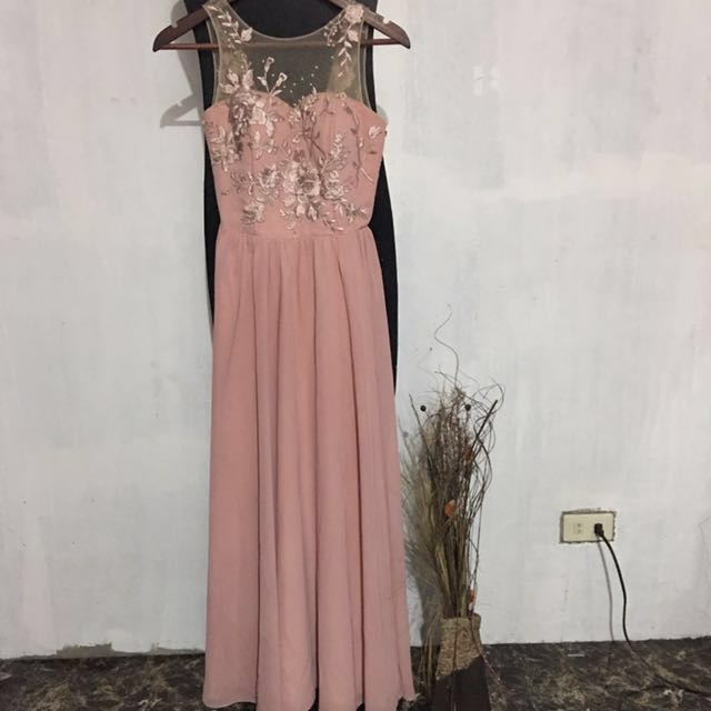 Pastel Gown FOR RENT, Preloved Women\'s Fashion, Clothes on Carousell