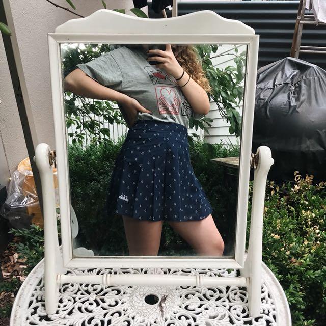 patterned netball skirt