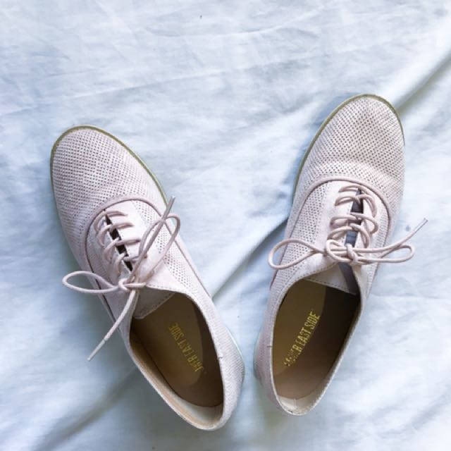 Payless suede oxfords