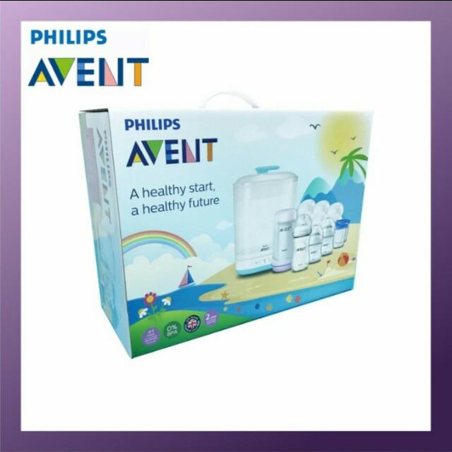 Philips Avent 2 IN 1 sterilizer bundle set