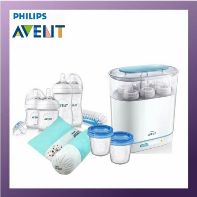 Philips Avent 3 IN 1 Sterilizer Steam bundle set