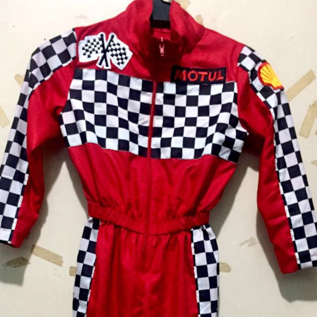 Racing costume for 3-4years old ONHAND!!!!