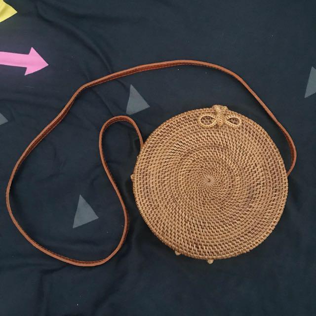 Rattan Bag (Ribbon)