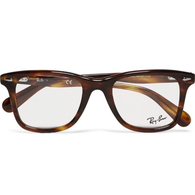 efa88f092 Rayban Tortoise Shell Spectacles, Luxury, Accessories on Carousell