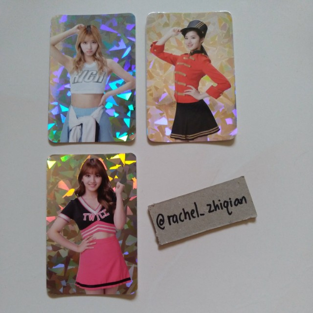 [READY STOCK] TWICE TWICELAND ENCORE CONCERT PHOTOCARD SET (SPECIAL HOLOGRAM PC)