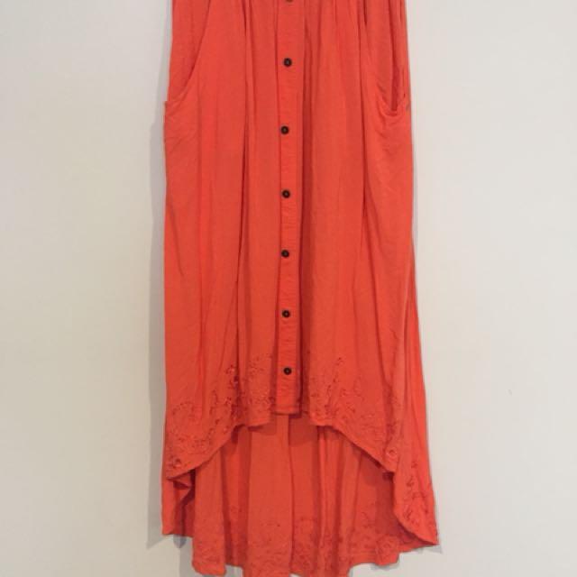 Ripcurl High-Low skirt