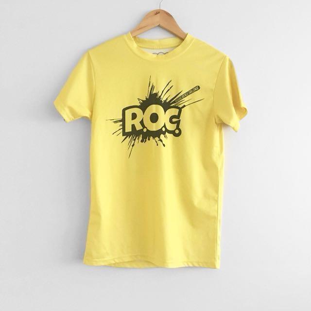 Roc race volunteer tee